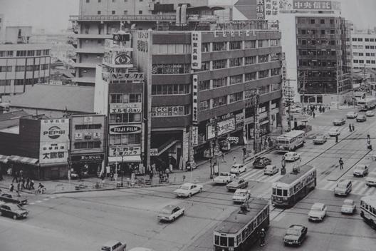 昭和49年頃の松屋カメラ外観
