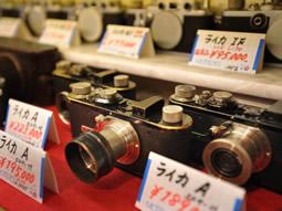 松屋カメラ 店内写真
