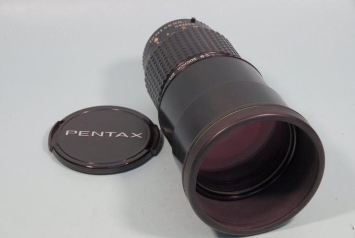 SMC A★200mm F2.8ED