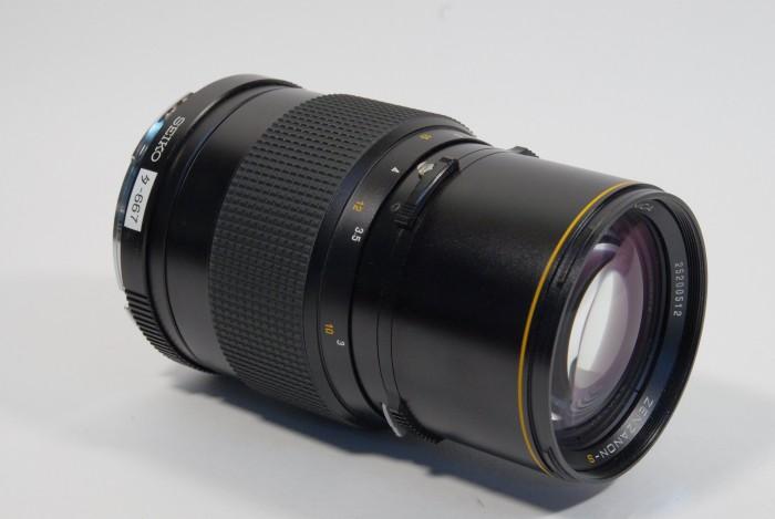 ブロニカ ゼンザノンS250mmF5.6 SQ用